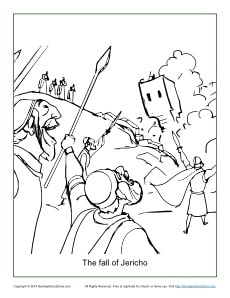 jericho coloring pages - photo#13