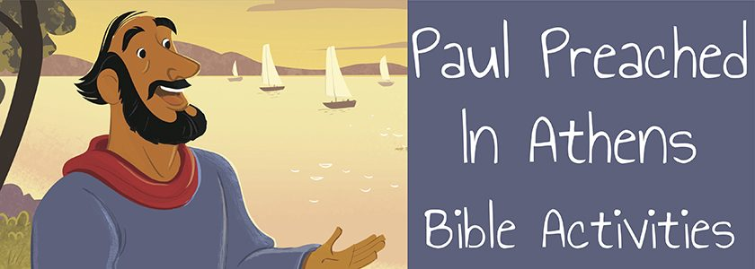 Paul Preached in Athens