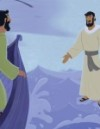 Jesus Walked on Water—Bible Story Teaching Picture