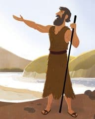 Bible Picture—John the Baptist