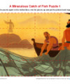 Children's Bible Jigsaw Puzzle Activity 2 - A Miraculous Catch of Fish