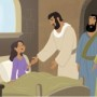 Picture—Jesus Restored a Little Girl