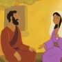 Joseph Learns About Mary's Miracle Pregnancy—Bible Story Teaching Picture
