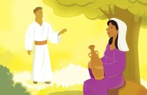 Bible Story Picture | Gabriel Visited Mary