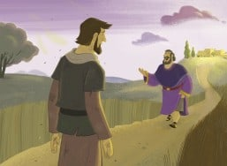 Bible Story Picture—The Lost Son Returns Home