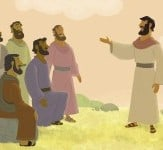 Jesus Taught About Prayer—Bible Story Teaching Picture