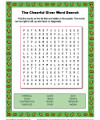 The Cheerful Giver Word Search Activity for Kids