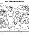 Children's Bible Hidden Pictures Activity - Jesus Is Alive!
