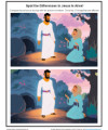 Children's Spot the Differences Bible Activity - Jesus Is Alive!
