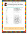 Children's Bible Activity - Jesus Is Alive Word Search