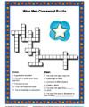 Children's Bible Crossword Puzzle Activity - The Wise Men