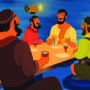 The Last Supper—Bible Story Teaching Picture