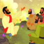 Jesus Talked About God's Care for Us—Bible Story Teaching Picture