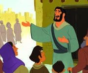 Bible Story Teaching Picture—Jesus Began the Church