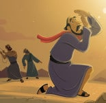 Paul's Conversion—Bible Story Teaching Picture