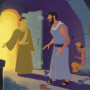 Peter Was Rescued from Jail—Bible Story Teaching Picture