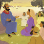 Paul Told Lydia About Jesus—Bible Story Teaching Picture