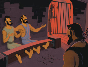 In Acts 1616 40 Paul And Silas Were Thrown A Philippian Prison Confined To The Stocks They Sang Prayed An Earthquake Occurred Freeing
