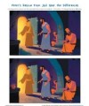 Children's Bible Story Spot the Differences Activity - Peter's Rescue from Jail