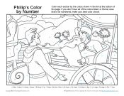 Bible coloring page for kids philip and the ethiopian for Ethiopian eunuch coloring page