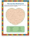 Children's Bible Word Search Activity - The Lost Son