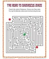 Fun Bible Story Maze Activity for Kids - The Road to Damascus