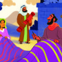 Paul Worked with Aquila and Priscilla—Bible Story Teaching Picture