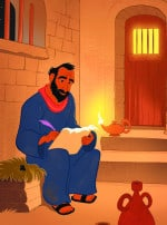Paul Wrote to Timothy—Bible Story Teaching Picture