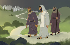 John, Jesus' Friend—Bible Story Teaching Picture