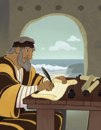 John Wrote About Love   Bible Story Teaching Picture