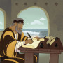John Wrote About Love | Bible Story Teaching Picture