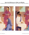 Mary and Martha Spot the Differences Children's Bible Activity