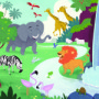 Bible Story Teaching Picture—God Created the Animals