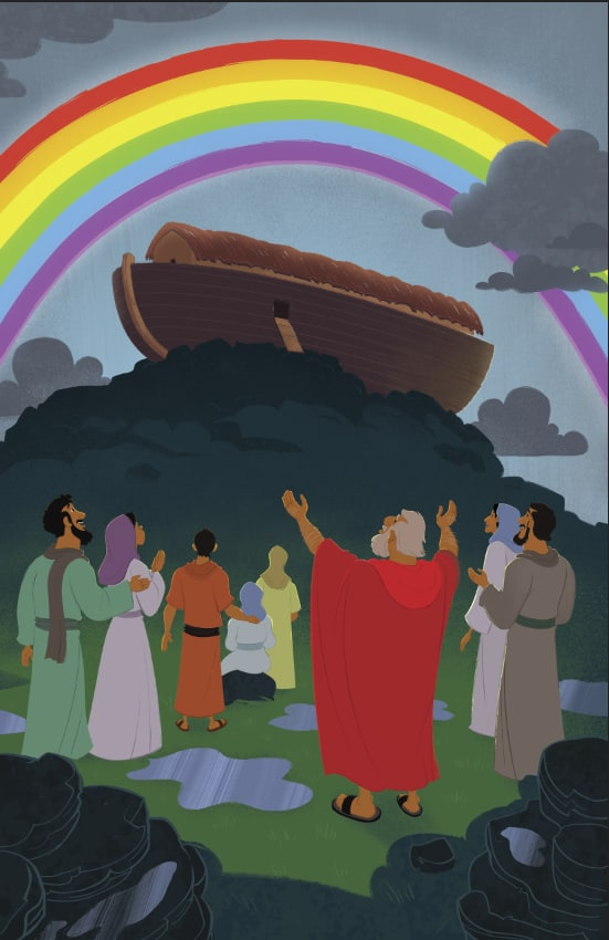 God Made a Promise to Noah Children 39 s