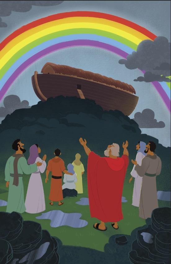 God Made A Promise To Noah Children S Bible Activities