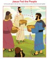 Jesus Fed the People Jigsaw Puzzle Activity