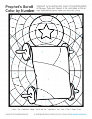 Bible Coloring Pages for kids | Prophets Told About God\'s Son