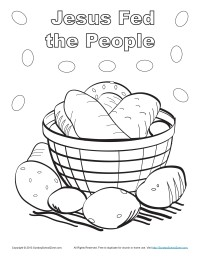 jesus-fed-the-people-coloring-page