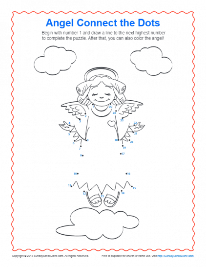 - Connect The Dots Bible Coloring Pages On Sunday School Zone