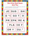 Children's Word Tile Bible Activity - John Wrote About Heaven