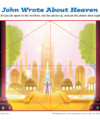 John Wrote About Heaven Jigsaw Puzzle - Bible Activity for Kids