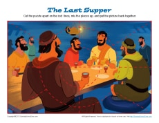 Last Supper Jigsaw Puzzle
