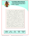 Children's Bible Word Search - The Lost Sheep