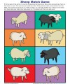 Children's Bible Matching Game About Sheep