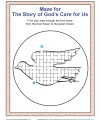 The Story of God's Care for Us Maze Activity