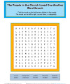 Bible Activity Word Search for Kids - Love One Another