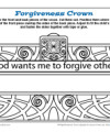 Forgiveness Crown Sunday School Activity