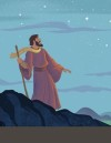 Bible Story Teaching Picture—God Made a Promise to Abraham