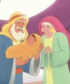 Bible Story Picture—The Birth of Isaac