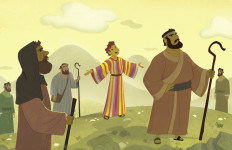 Joseph's Coat of Many Colors—Bible Story Teaching Picture